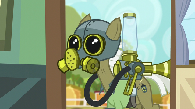 File:Pest pony with gas mask on S5E04.png