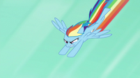 Rainbow flying to Quibble's rescue S6E13