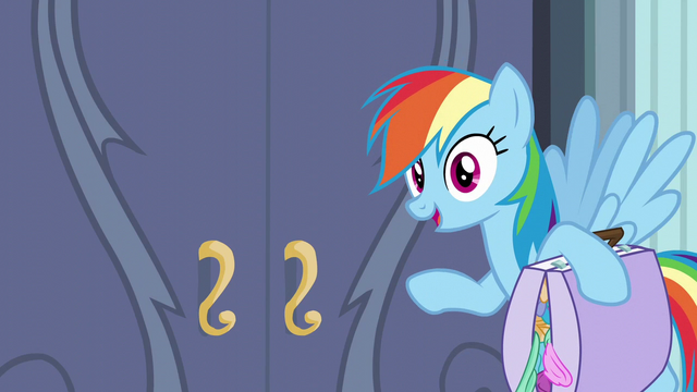 File:Rainbow Dash about to leave S6E7.png