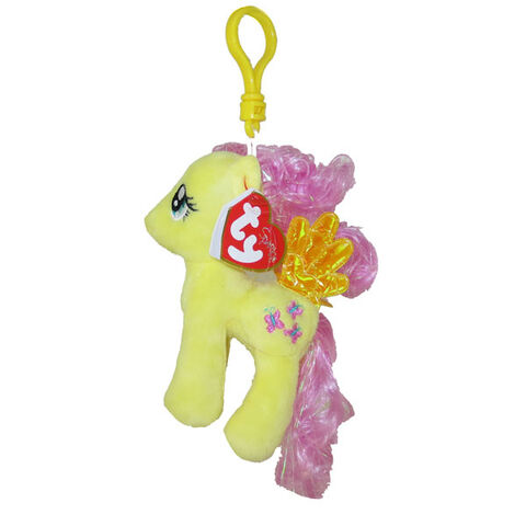 File:Fluttershy Ty Beanie Baby Tinsel keychain.jpg