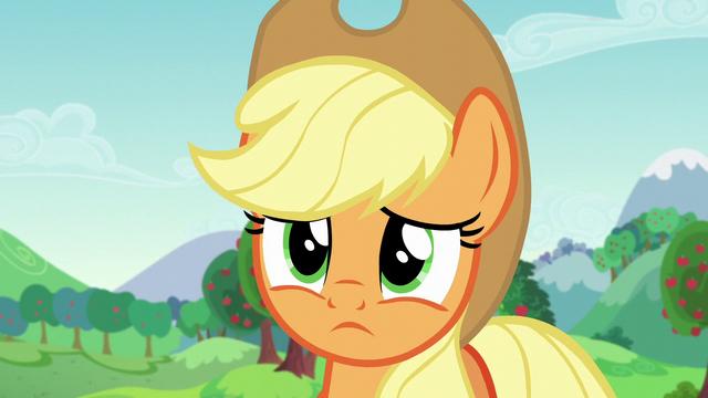 File:Applejack fears she lost Rara as a friend S5E24.png