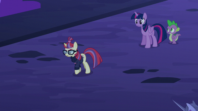 File:Moon Dancer walking away from Twilight and Spike S5E12.png