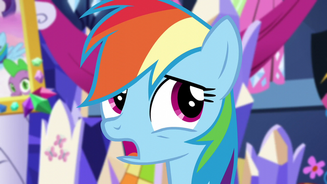 "File:Rainbow ""it's pretty bad, right?"" S5E3.png"