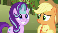 Starlight about to use magic S6E6