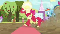 Orchard Blossom crosses the finish line S5E17