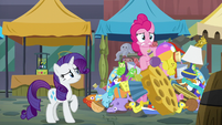 Pinkie Pie going crazy S6E3