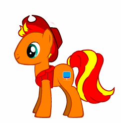 File:FANMADE Velma DTheGamer OC Earth pony.png
