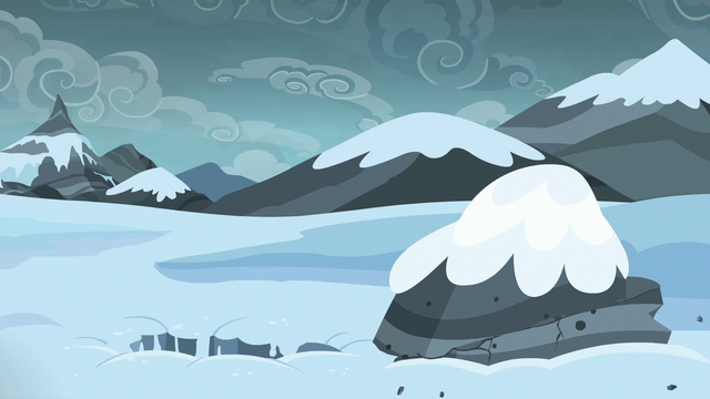 File:Spike falls through the snow S6E16.png