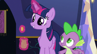 Twilight giving Crusaders a single bit S6E15