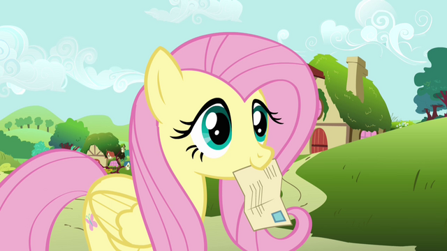 File:Fluttershy listening to Globe Trotter S2E19.png
