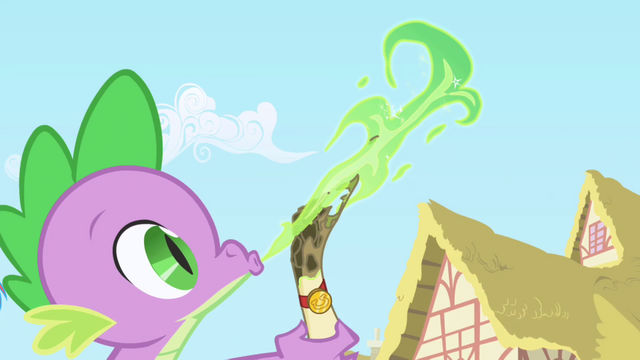 File:Spike sends a letter to Celestia S1 opening.png