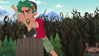 Timber Spruce grabbing his axe EG4