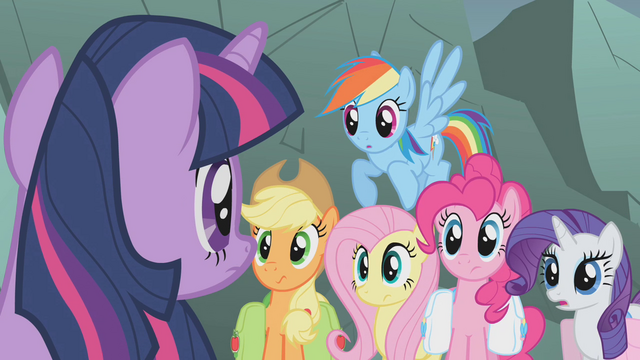 File:Twilight shushes her friends S1E07.png