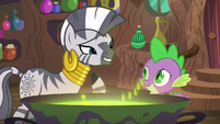 "Zecora ""if I am to be honest"" S5E22"