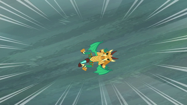 File:Armored dragon falls toward the water S6E5.png