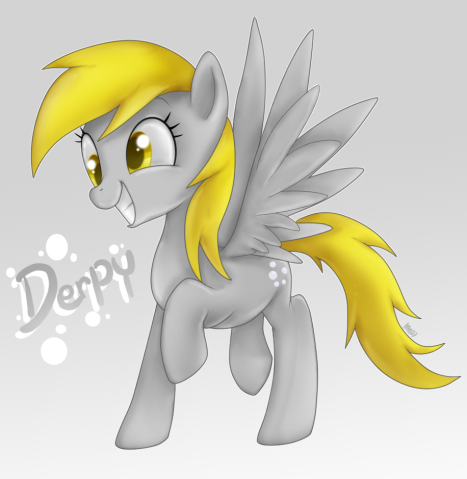 File:FANMADE Derpy amazing.png
