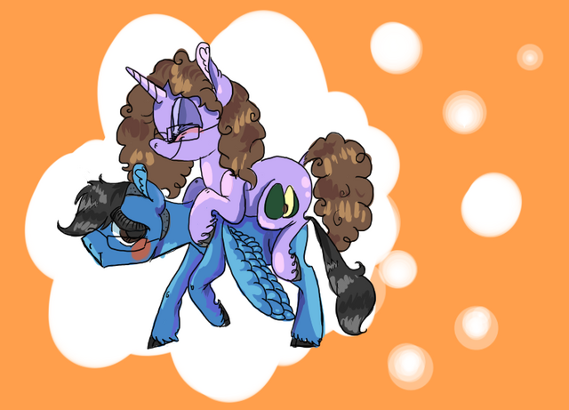 File:FANMADE Two Ponies.png