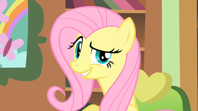 File:Fluttershy smugs S1E22.png