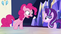 "Pinkie Pie ""getting an invitation to a party"" S6E25"