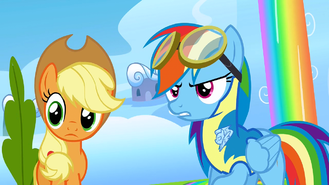 Rainbow Dash seriously S3E7