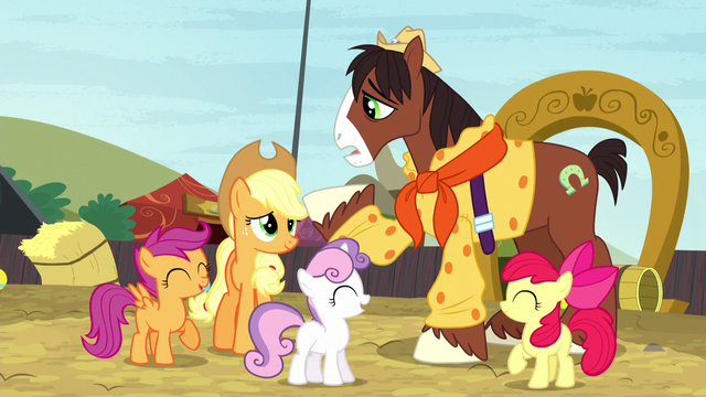 "File:Trouble Shoes ""lookin' at my cutie mark all wrong"" S5E6.png"