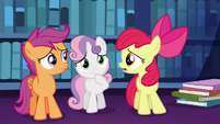 """Apple Bloom """"what the apples are we ever gonna tell her?"""" S6E19"""