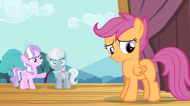 File:Diamond Tiara and Silver Spoon mocks Scootaloo S4E05.png