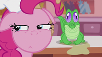 Pinkie side-by-side with Gummy S5E8