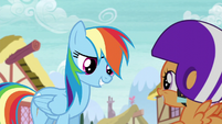 "Rainbow ""great that you guys are going"" S6E7"