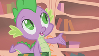 "Spike ""what if you're wrong, Twilight?"" S1E09"