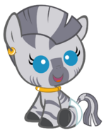 Baby zecora revamped by beavernator-d4xwta5