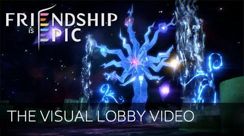 Friendship is Epic - Title Screen and Visual Lobby