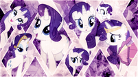 Rarity wallpaper by artist-midnight-jasper