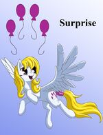 Surprise as interpeted by Starbat