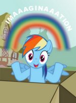 "Rainbow Dash ""Imaaaginaaation"""