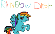 Rainbow Dash by RainbowDashFR