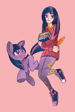 Twilight Sparkle by sapphire1010
