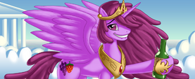 Berry Punch alicorn