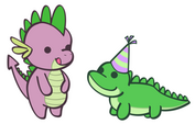 Spike and Gummy