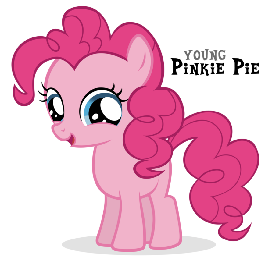Image Pinkie Pie Filly By Blackm3sh Png My Little Pony