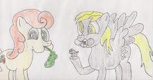 Ponies eating by hedgehoggoalie-d60jee1-1-