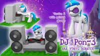 MLP-LEGO-DJ-Pon-3(Vinyl-Scratch)