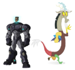 Baxter Stockman and Discord