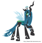 Queen Chrysalis vector picture by artist-blackm3sh