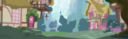 S1E09 Ponyville panorama