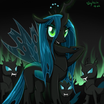 Queen of Changeling by SkyKain