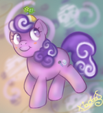 Litte Filly Screwball by xiao668
