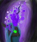 Queen Chrysalis by artist-ra1nbowscra4tch