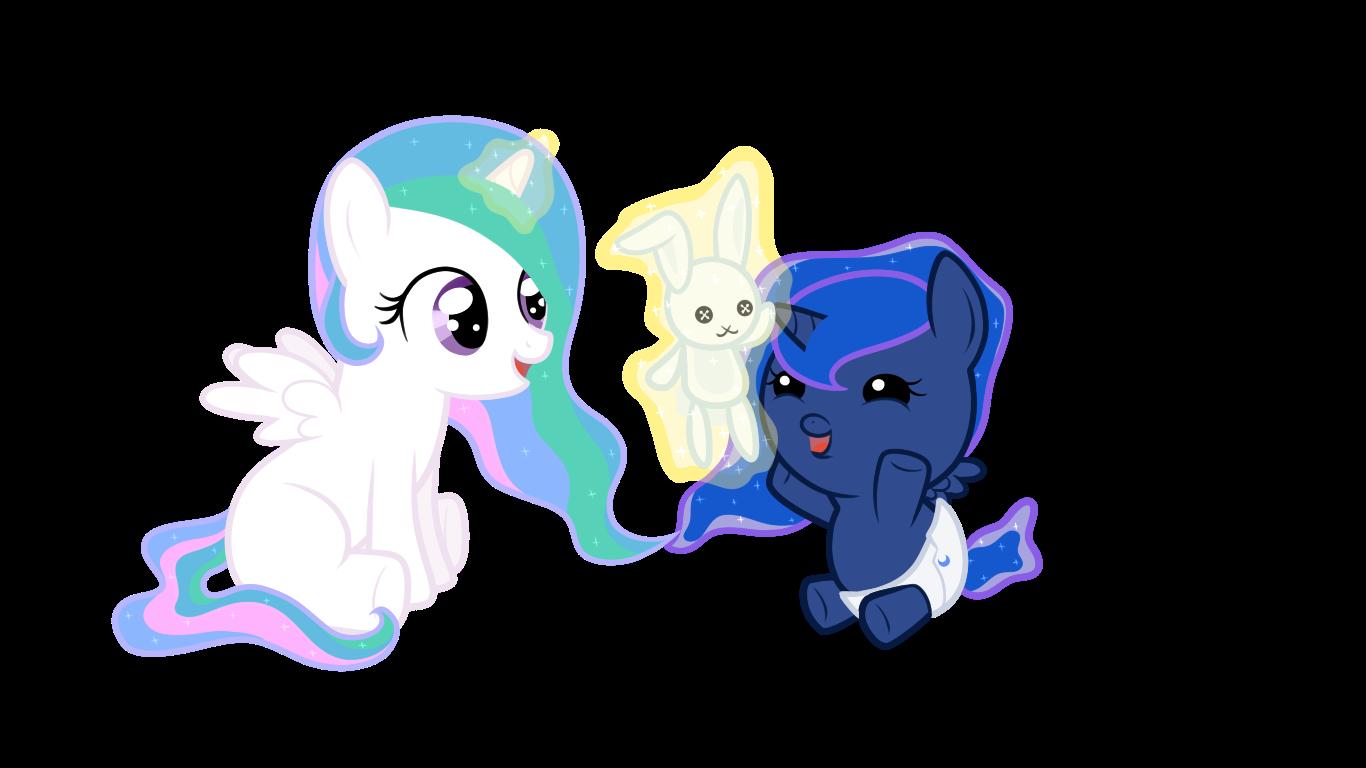 My Little Pony Coloring Pages Princess Luna Baby lektoninfo