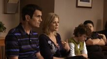 The Dunphys and Pritchetts explain their relations to the Principal
